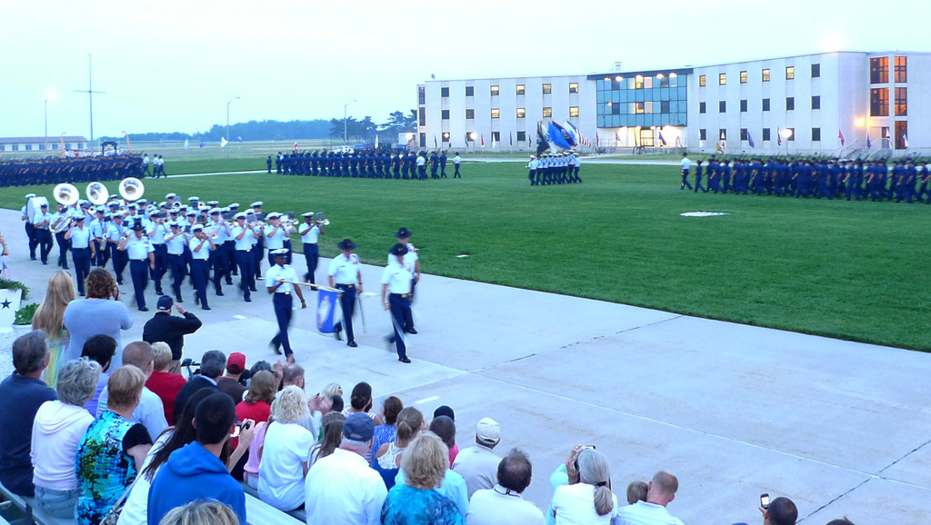 Coast Guard Sunset Parade