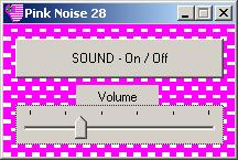 Pink Noise Application